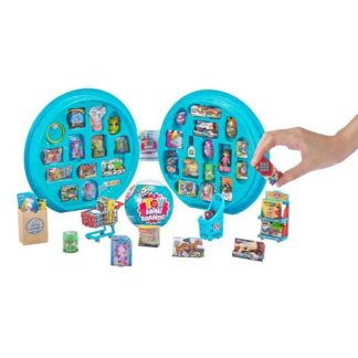 5 Surprise Toy Mini Brands Carry Case With Exclusive Mini Brands Toys
