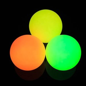 70mm Rechargeable Multi Function Glow Juggling Ball