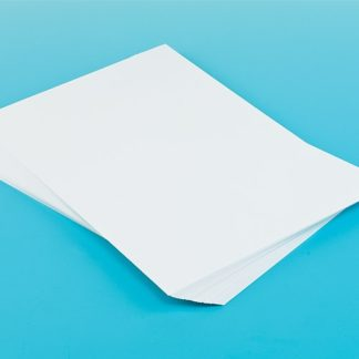 A2 Large White Card - 50 Sheets of White A2 (60cm x 42cm) Card