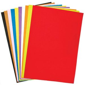 A3 Felt Sheets - 10 Sheets in 10 assorted colours. Size 42cm x 29cm. 1mm thick felt. Ideal for fabric crafts