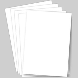 A3 White Card - 50 Sheets of White A3 size (30cm x 42cm) Card. 220gsm