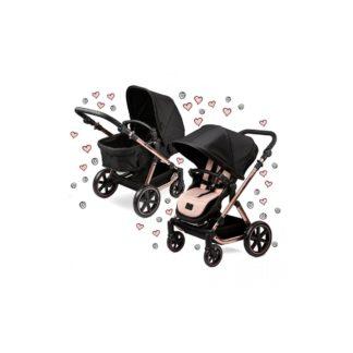 ABC Design Migno Dolls Pram-Rose Gold (New 2020)