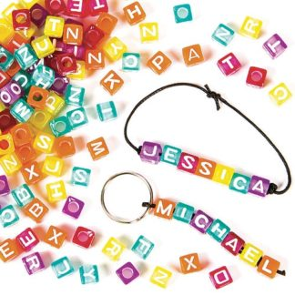 Alphabet Cube Beads (Pack of 450)