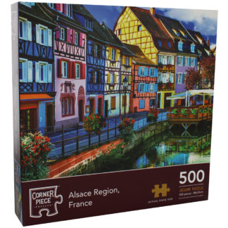 Product shot Alsace Region France 500 Piece Jigsaw Puzzle