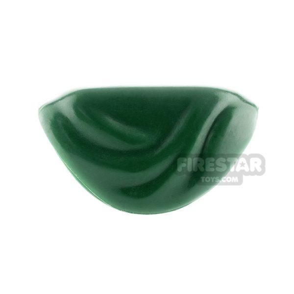 Product shot Arealight - Shawl - Dark Green Flexible Plastic