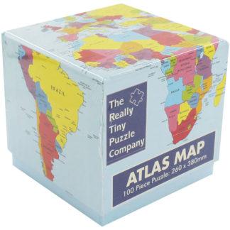 Product shot Atlas Map Jigsaw Puzzle - 100 Pieces