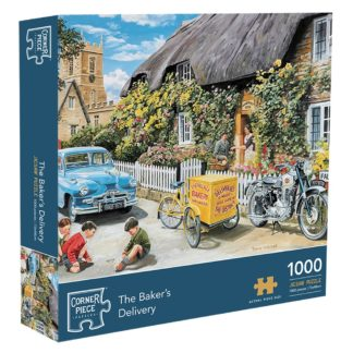 Product shot Bakers Delivery 1000 Piece Jigsaw Puzzle