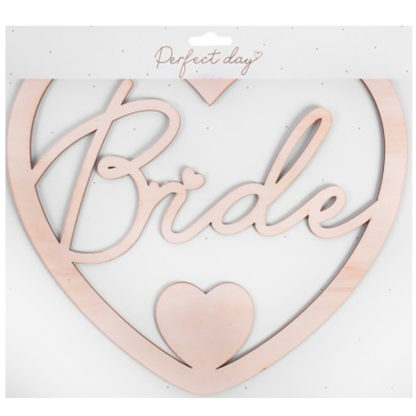Product shot Bride And Groom Chair Signs