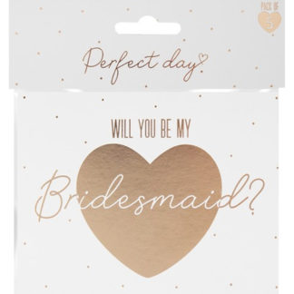 Product shot Bridesmaid Cards: Pack Of 5