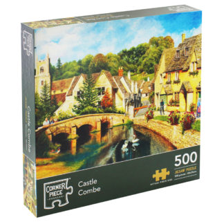 Product shot Castle Combe 500 Piece Jigsaw Puzzle