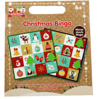 Product shot Christmas Bingo Game