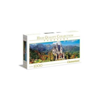 Clementoni - Panorama Castle Puzzle 1000 Pieces