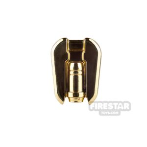 Product shot Clone Army Customs - Commander Jet Pack - Chrome Gold