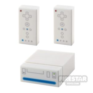 Product shot Custom Design - Bricktendo Wii