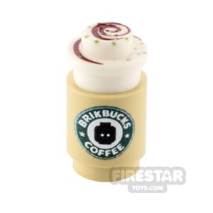 Product shot Custom Design - Brikbucks Blokacchino coffee