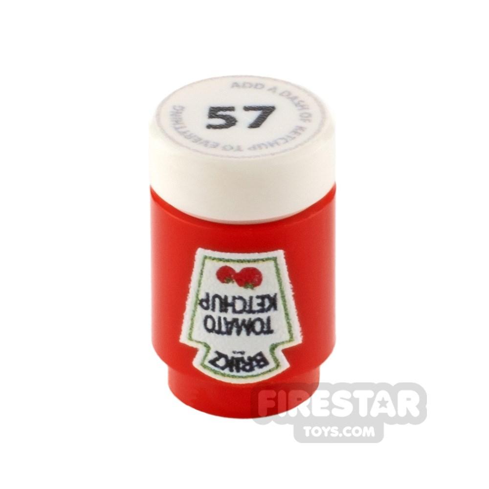 Product shot Custom Design - Brikz Tomato Ketchup
