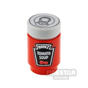 Product shot Custom Design - Brikz Tomato Soup