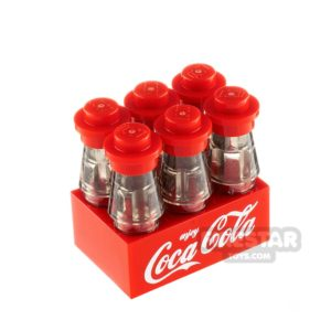 Product shot Custom Design Coca Cola Drink Bottles