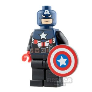 Product shot Custom Design Minifigure Captain America