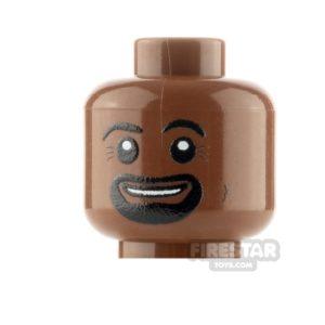 Product shot Custom Minifigure Heads Goatee