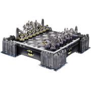 DC Comics Batman Pewter Chess Set with Illuminating Bat Signal