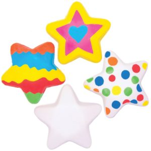 Design Your Own Squeezy Stars (Pack of 5)