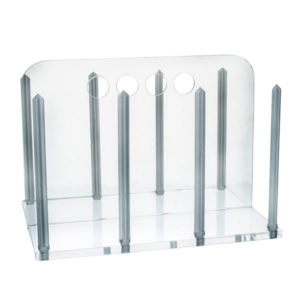 Eisco Acrylic Clear Petri Dish Rack for 60mm Dishes