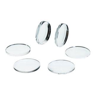 Eisco PH05238C 50mm Acrylic Lenses Set of 6
