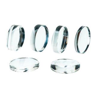 Eisco PH0538D 38mm Acrylic Lenses Set of 6
