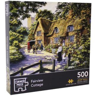 Product shot Fairview Cottage 500 Piece Jigsaw Puzzle