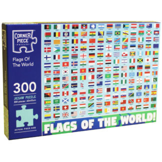 Product shot Flags Of The World 300 Piece Jigsaw Puzzle
