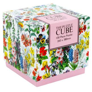 Product shot Floral 100 Piece Jigsaw Puzzle
