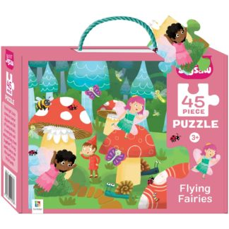 Product shot Flying Fairies 45 Piece Jigsaw Puzzle