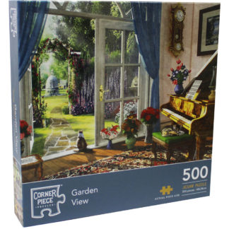 Product shot Garden View 500 Piece Jigsaw Puzzle