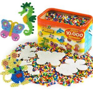 Hama Beads Bucket & Peg Boards - 10