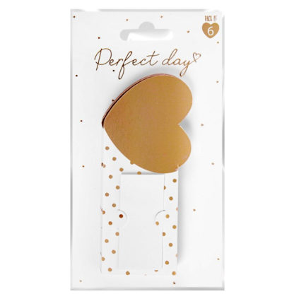 Product shot Heart Place Cards: Pack Of 6