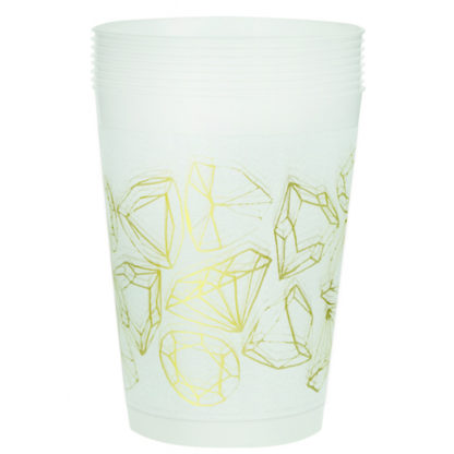 Product shot Hen Do Plastic Cups - 8 Pack