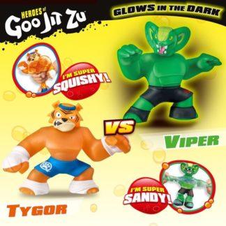 Heroes of Goo Jit Zu toys - Versus 2 Pack - Tygor Vs Viper