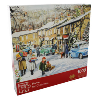 Product shot Home For Christmas 1000 Piece Jigsaw Puzzle