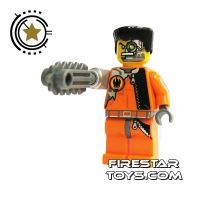Product shot LEGO Agent Mini Figure -  Saw Fist