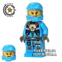 Product shot LEGO Alien Conquest Mini Figure - Alien Defense Unit Soldier 6