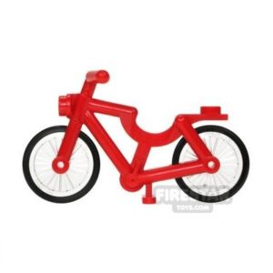Product shot LEGO - Bicycle - Red