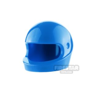 Product shot LEGO - Biker Helmet - Blue