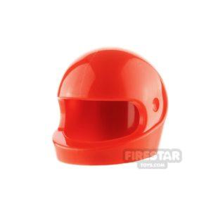 Product shot LEGO - Biker Helmet - Red