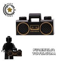 Product shot LEGO - Boom Box - Black