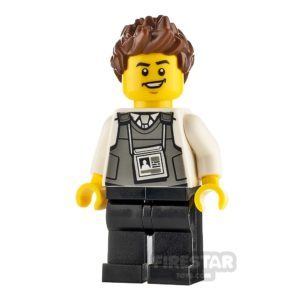 Product shot LEGO City Minfigure Security Officer