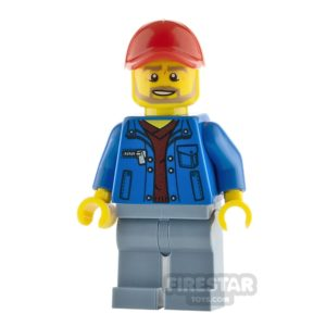 Product shot LEGO City Minfigure Tow Truck Driver