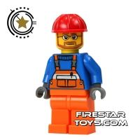 Product shot LEGO City Mini Figure - Construction
