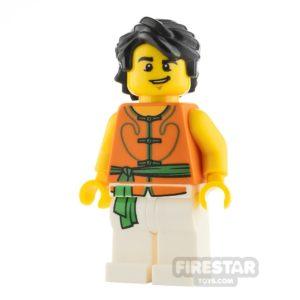 Product shot LEGO City Minifigure Dragon Boat Race Team Member 2