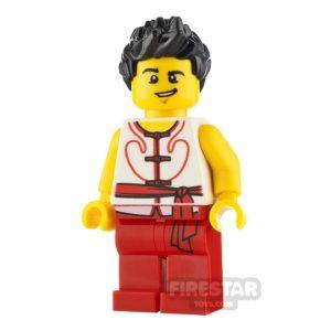 Product shot LEGO City Minifigure Dragon Boat Race Team Member 5